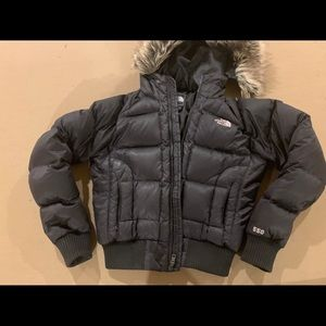 The North Face 550 down bomber